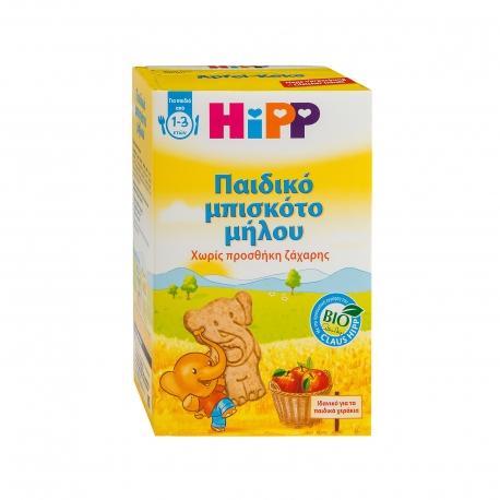 ΜΠΙΣΚΟΤΑ ΠΑΙΔΙΚΑ (150g) ΜΗΛΟΥ HIPP ΑΠΟ 1 ΕΩΣ 3 ΕΤΩΝ - ΒΙΟΛΟΓΙΚΟ,ΧΩΡΙΣ ΠΡΟΣΘΗΚΗ ΖΑΧΑΡΗΣ