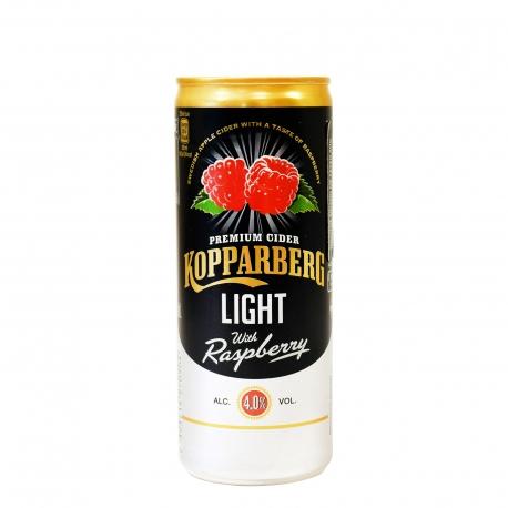 KOPPARBERG ΜΗΛΙΤΗΣ LIGHT WITH RASPBERRY -  (250ml)