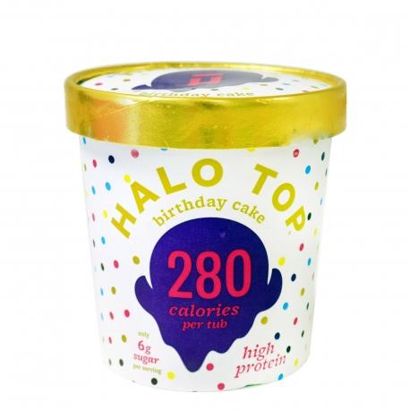 ΠΑΓΩΤΟ ΟΙΚΟΓΕΝΕΙΑΚΟ (473ml) BIRTHDAY CAKE HALO TOP