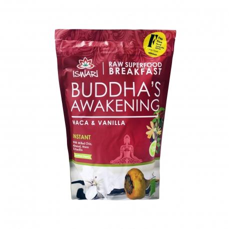 ΜΕΙΓΜΑ ΓΙΑ ΠΡΩΪΝΟ (360g) MACA & VANILIA ISWARI BUDDHA'S AWAKENING - ΒΙΟΛΟΓΙΚΟ,ΧΩΡΙΣ ΓΛΟΥΤΕΝΗ