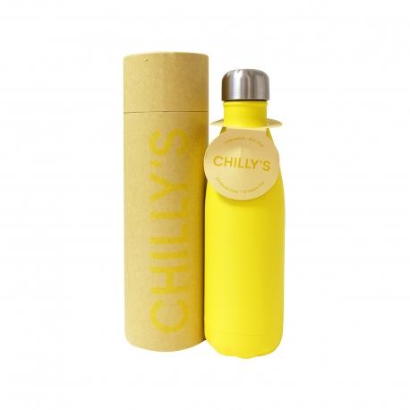 Chilly's μπουκάλι θερμός yellow 500ml