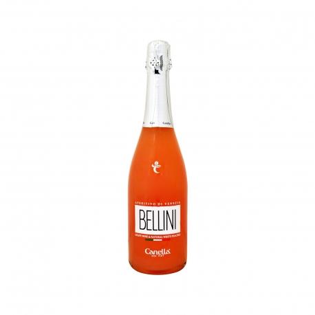 Canella απεριτίφ bellini με βάση το κρασί & πολτό λευκών ροδάκινων (750ml)