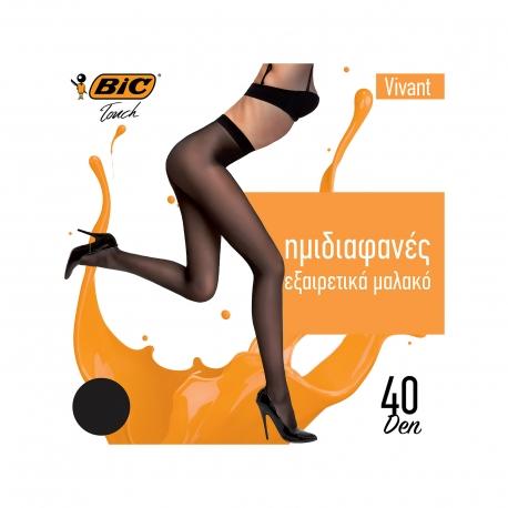 BIC ΚΑΛΣΟΝ VIVANT MEDIUM / ΜΑΥΡΟ 40 DEN