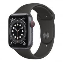 APPLE Watch S6 44mm space grey black sportband