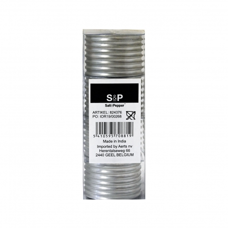 Salt & pepper δαχτυλίδι πετσέτας 824376 ασήμι (4τεμ.)