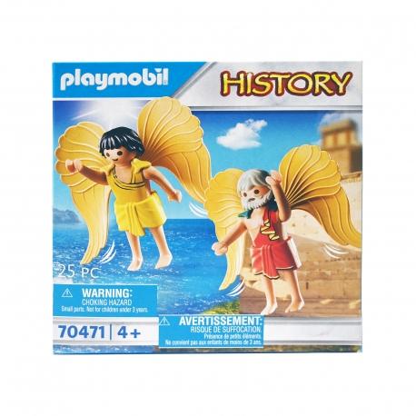 PLAYMOBIL ΠΑΙΧΝΙΔΙ 70471 HISTORY Ο ΔΑΙΔΑΛΟΣ & Ο ΙΚΑΡΟΣ + 4 ΕΤΩΝ