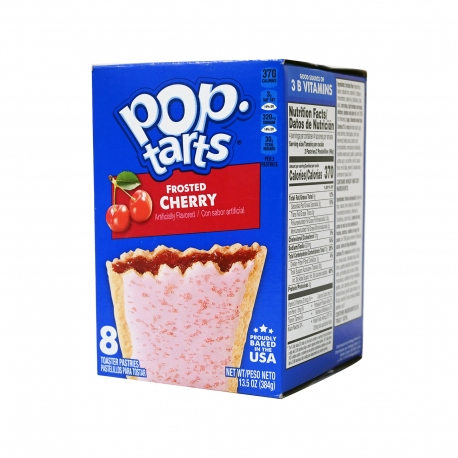 KELLOGG'S ΓΛΥΚΙΣΜΑ ΤΑΡΤΑΣ POP TARTS FROSTED CHERRY (384g)