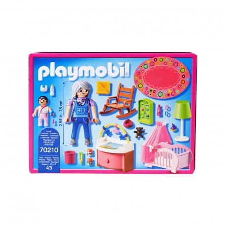 Playmobil παιχνίδι 70210 δωμάτιο μωρού
