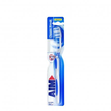 Aim οδοντόβουρτσα classic fresh μπλε/ μέτρια