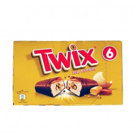 TWIX ΠΑΓΩΤΟ ΠΟΛΥΣΥΣΚΕΥΑΣΙΑ (6x34.33g)