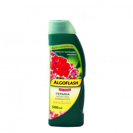 Algoflash λίπασμα υγρό γεράνια με ιχνοστοιχεία (500ml)