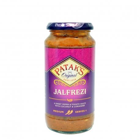 Patak's σάλτσα έτοιμη jalfrezi, medium - χωρίς γλουτένη,vegetarian (450g)