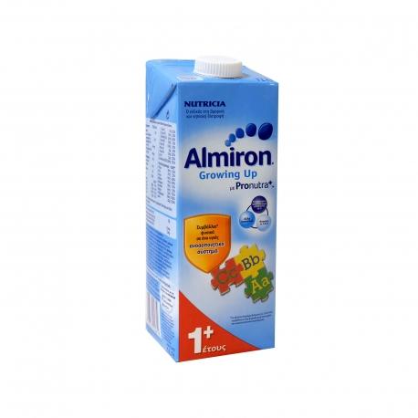 Nutricia ρόφημα γάλακτος παιδικό almiron growing up με pronutra +1 έτους (1lt)