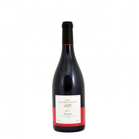 Κτήμα Γεροβασιλείου κρασί ερυθρό syrah (750ml)