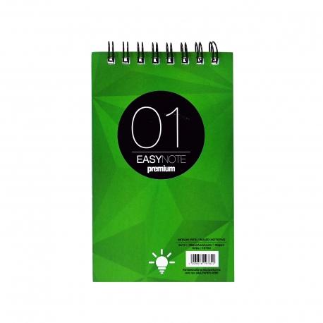 A&g τετράδιο σπιράλ easy note premium 01 ριγέ 50 φύλλα