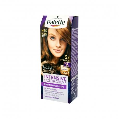 Schwarzkopf βαφή μαλλιών palette μπρονζέ μόκα νο 7. 56