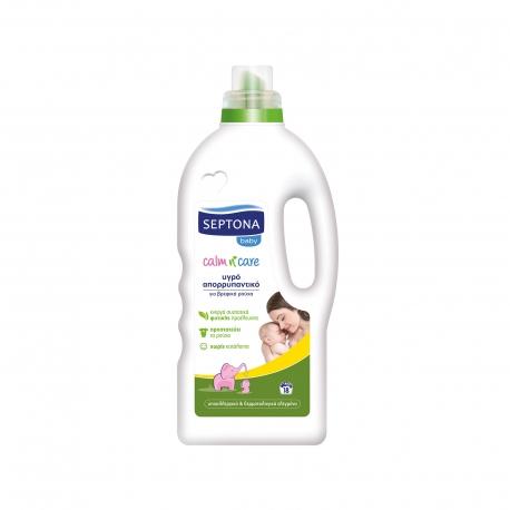 Septona υγρό απορρυπαντικό ρούχων για μωρά baby calm N care 1. 26lt (18μεζ. )