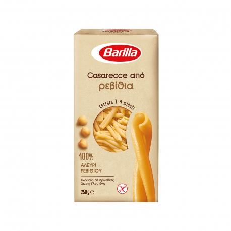 Barilla πάστα ζυμαρικών casarecce από 100% αλεύρι ρεβιθιού - χωρίς γλουτένη (250g)