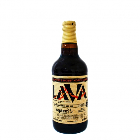 Septem μπίρα lava imperial india red (500ml)