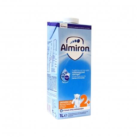 Nutricia ρόφημα γάλακτος παιδικό almiron growing up με pronutra +2 ετών (1lt)