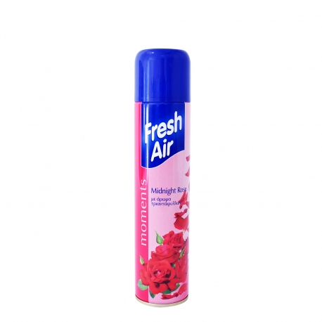 Εύρηκα αρωματικό χώρου spray fresh air moments τριαντάφυλλο (300ml)