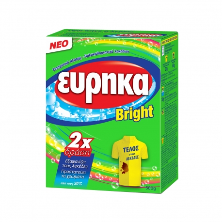 Εύρηκα ενισχυτικό πλύσης - πολυκαθαριστικό λεκέδων bright (500g)