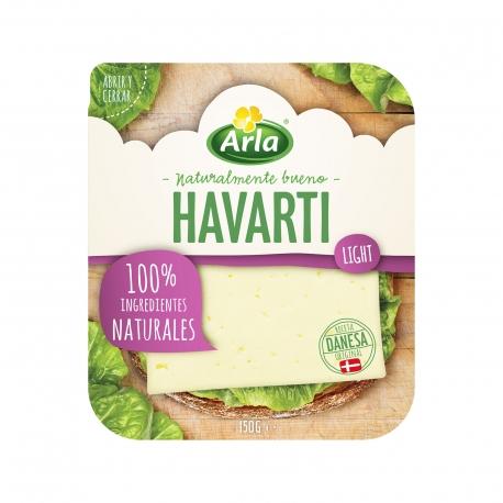 Arla τυρί ημίσκληρο για τοστ havarti light σε φέτες (150g)