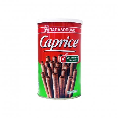 Παπαδοπούλου γκοφρέτα πουράκι caprice λιγότερη ζάχαρη (250g)